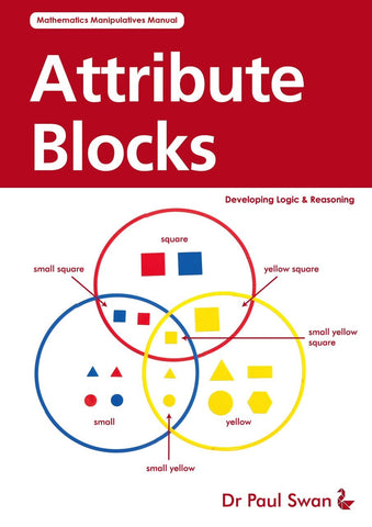 Activity Book - Attribute Blocks - iPlayiLearn.co.za
