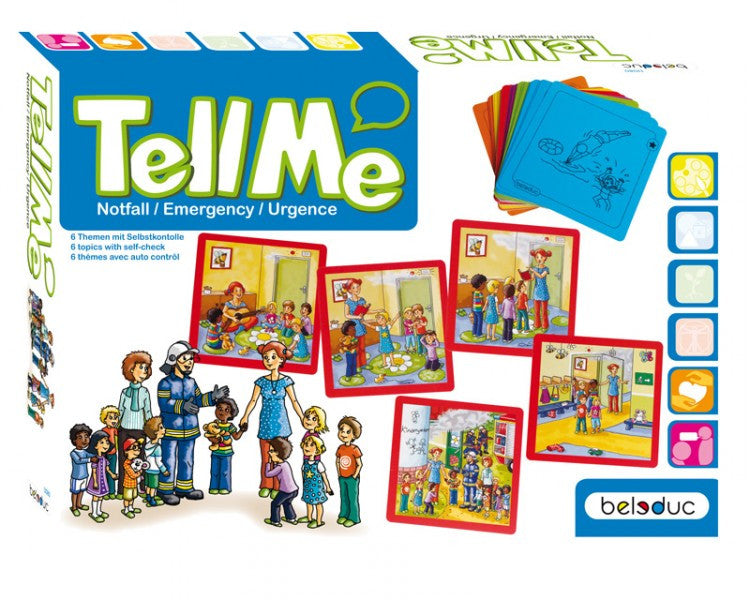 Tell Me! What to do: Emergency Situation Cards (30 cards) - iPlayiLearn.co.za