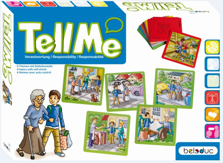 Tell Me! What to do: Responsibility Situation Cards (30 cards) - iPlayiLearn.co.za