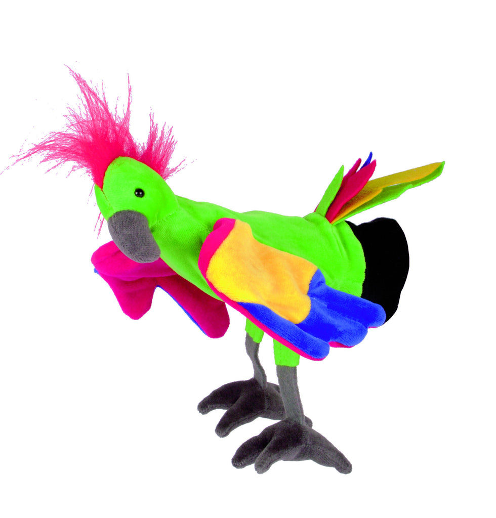 HAND PUPPET - Parrot - iPlayiLearn.co.za