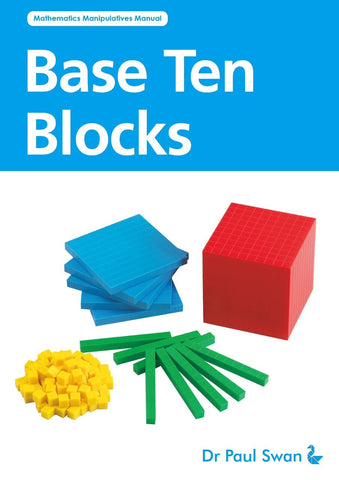 Activity Book - Base Ten Blocks - iPlayiLearn.co.za