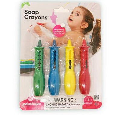 Soap Crayons 4pc