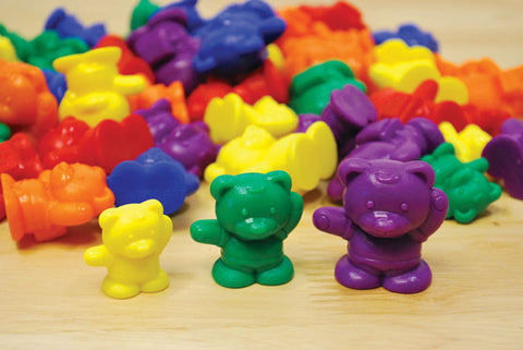 Counters Bears Weighted 6 Col 96pc pbag