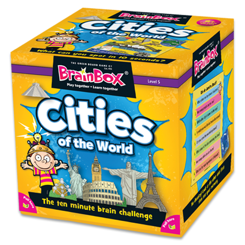 BrainBox Cities of the World Game