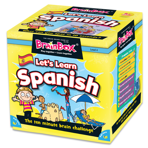 BrainBox Let's Learn Spanish Game