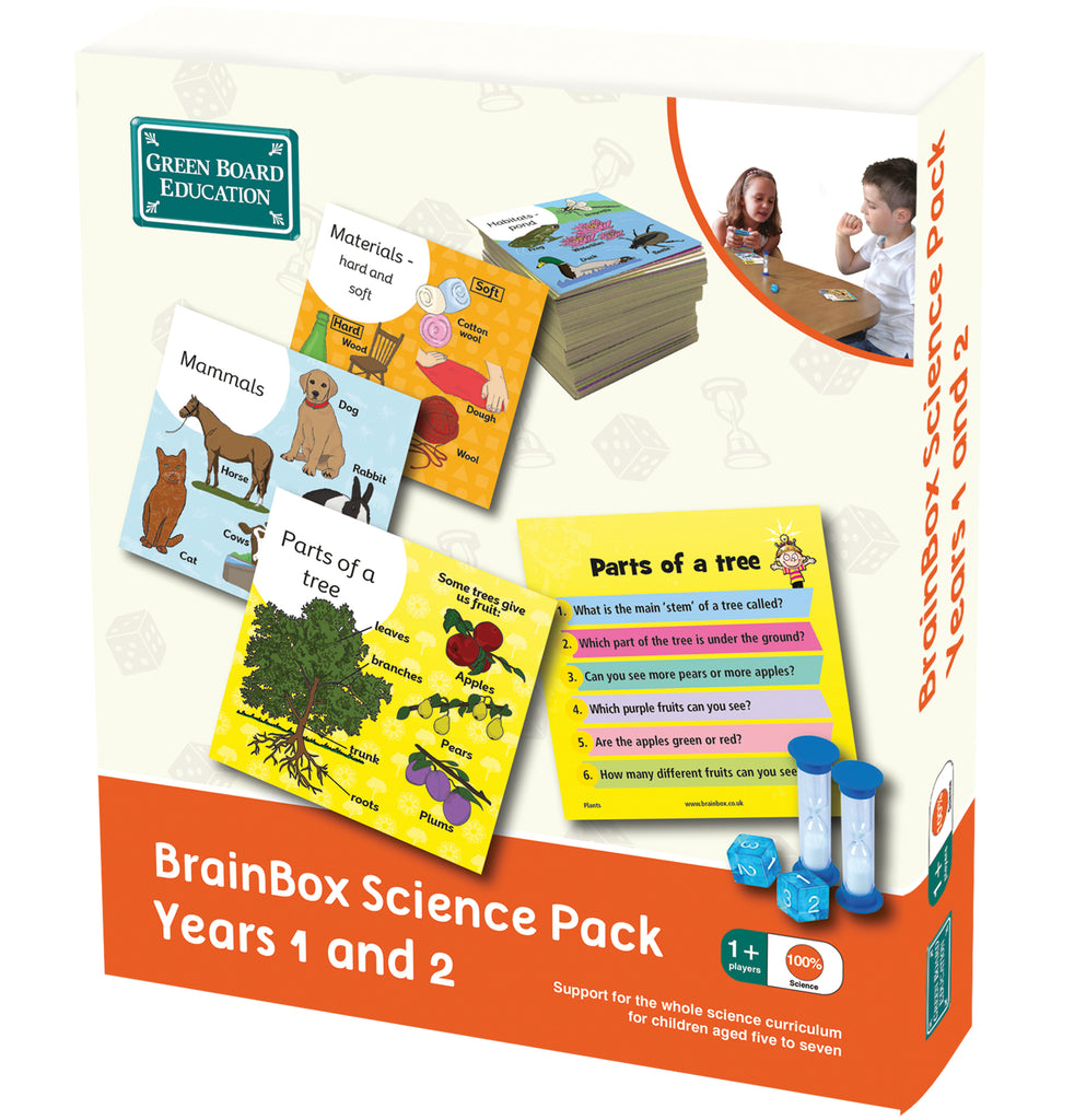 BrainBox Science Years 1 & 2 (Ages 5 - 7)