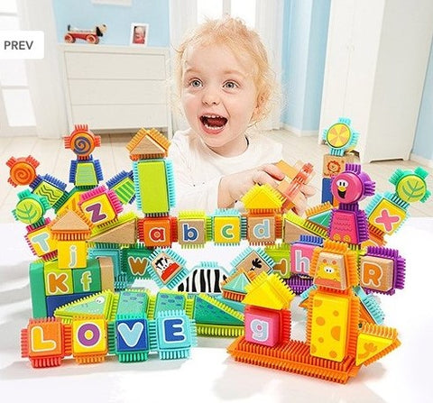 Bristle Animal Building Block 150pc Set