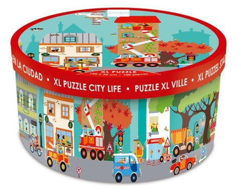 XL Floor Puzzle: City Life 100pc