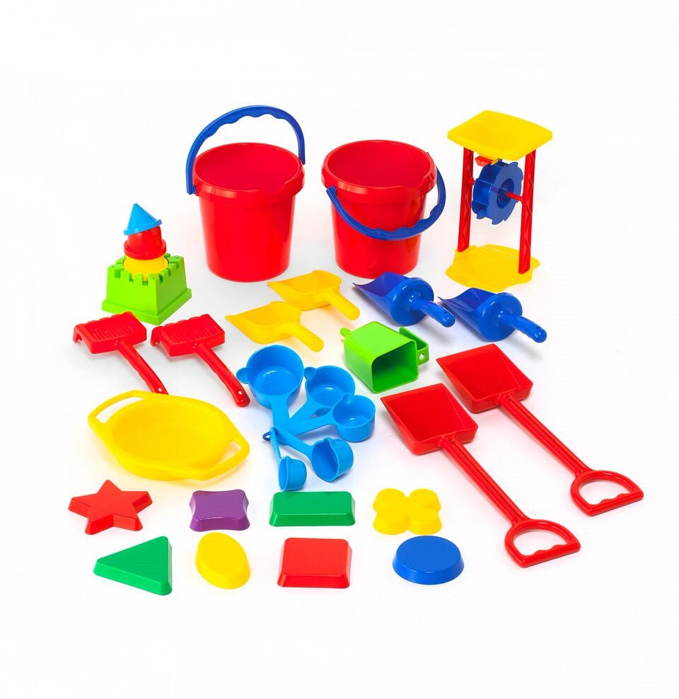 Sand & Water Play Classroom Tool Set 30pc