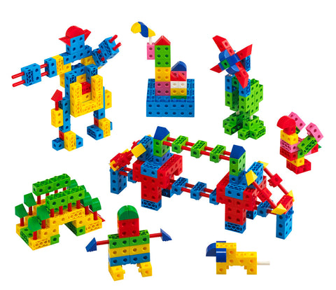 Brick Construction Classroom Set 579pc - iPlayiLearn.co.za