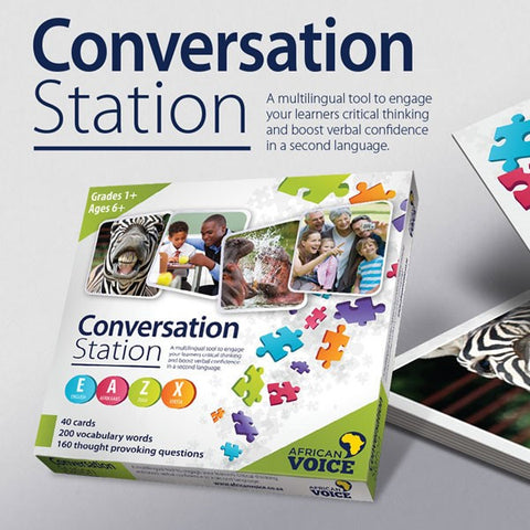 African Voice - Conversation Station - iPlayiLearn.co.za