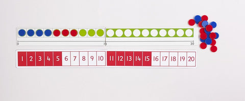 Counter Number Line - iPlayiLearn.co.za