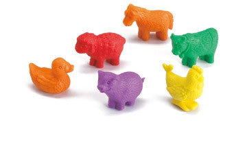 Counters Farm Animals 72pc pbag - iPlayiLearn.co.za