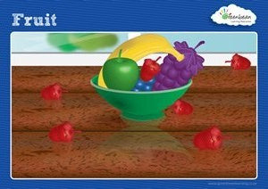 Activity Cards Fruit Counters (ages 5+) - iPlayiLearn.co.za