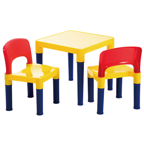 Preschool Table & 2 Chairs Set