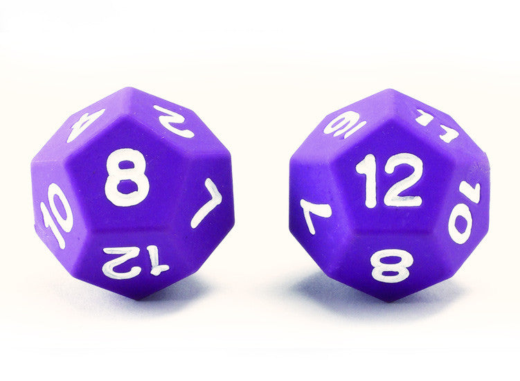 Dice Plastic NUMBER Jumbo 2pc - iPlayiLearn.co.za
