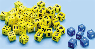 Dice Mix Pack 16mm 12pc - iPlayiLearn.co.za