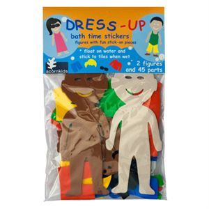Dress-Up bathtime Stickers