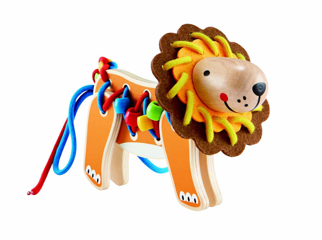 Lacing Lion 26pc - iPlayiLearn.co.za