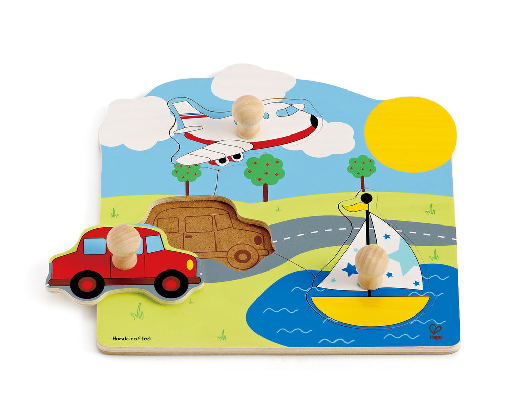 Away We Go Puzzle 3pc - iPlayiLearn.co.za