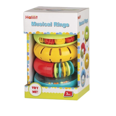 Muscial Rings Set 4pc