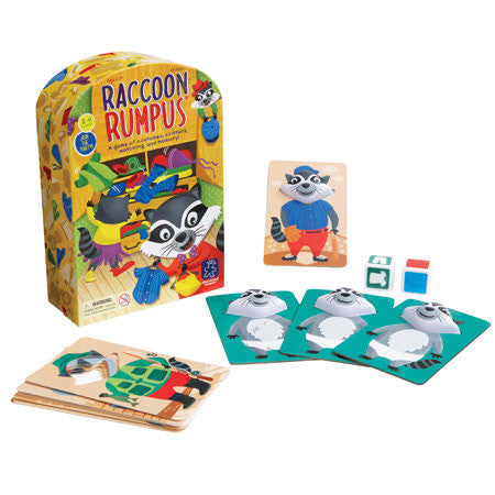 Raccoon Rumpus™ - iPlayiLearn.co.za  - 1