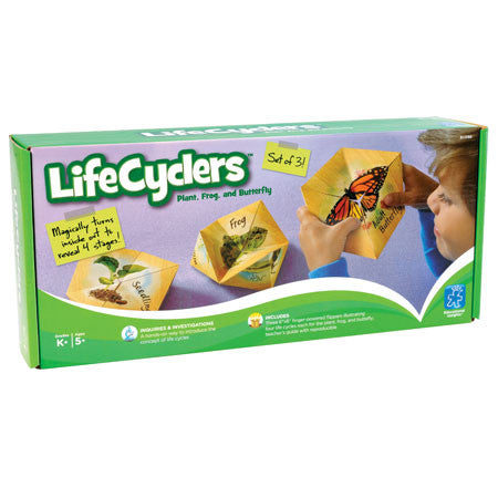 LifeCyclers™ Butterfly, Frog and Plant - iPlayiLearn.co.za  - 1