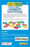 Short Vowel Phonics Dominoes 84pc - iPlayiLearn.co.za