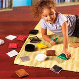 Teachable Touchables Texture Squares - iPlayiLearn.co.za