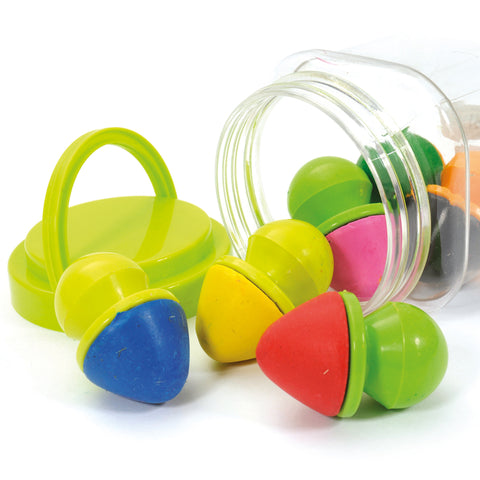 Easy Grip Crayons 6pcs
