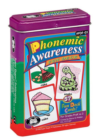 Phonemic Awareness Fun Deck