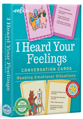 I Heard Your Feelings Conversation Cards: Reading Emotional Situations