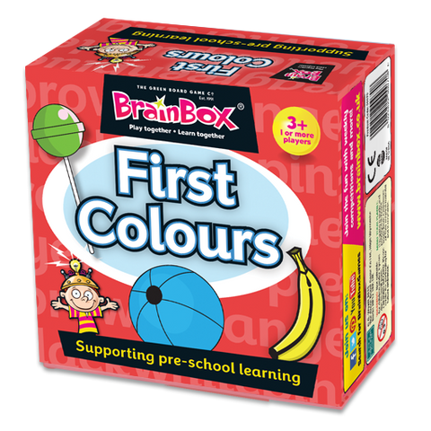 BrainBox First Colours Preschool
