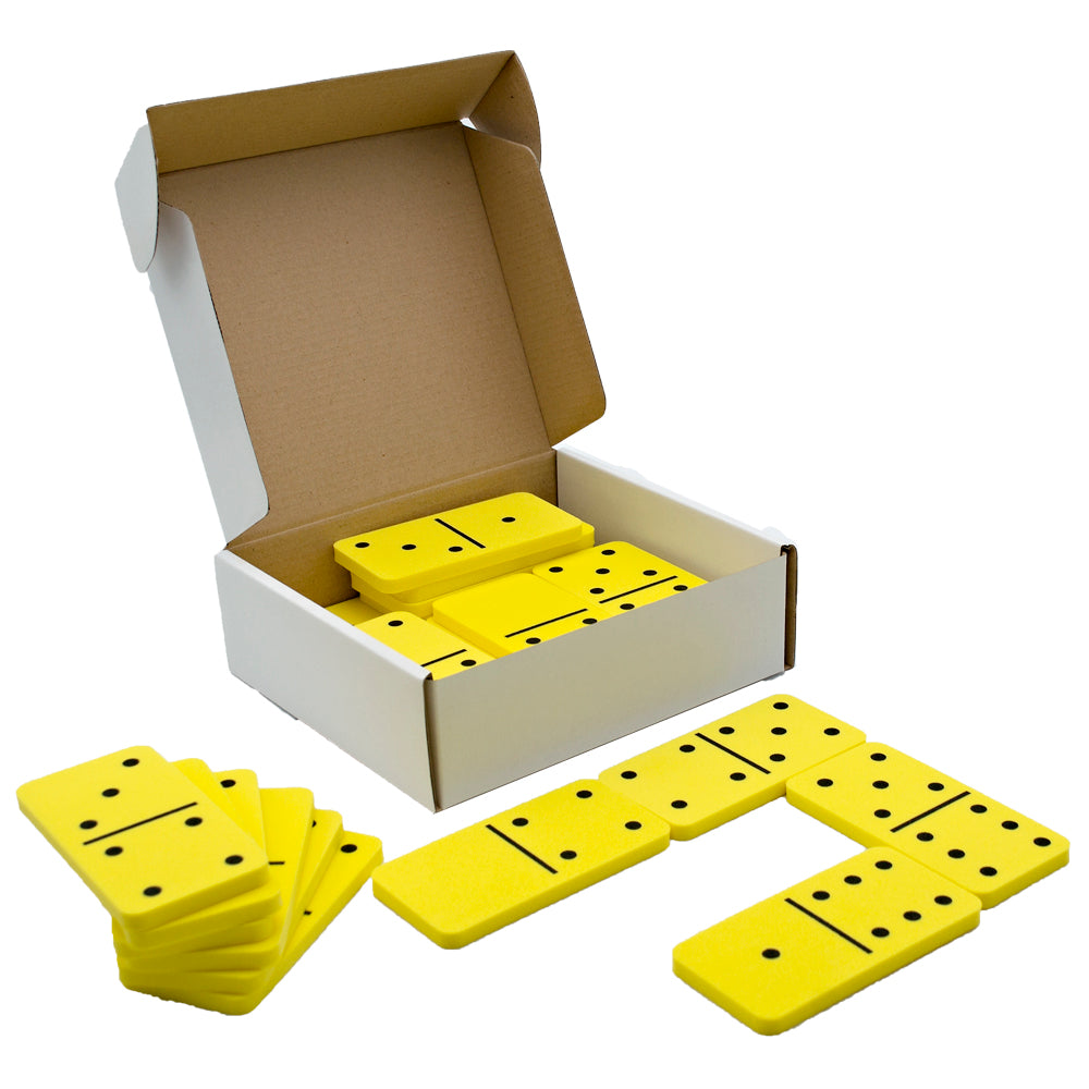Dominoes Foam Double-6 Jumbo 28pc