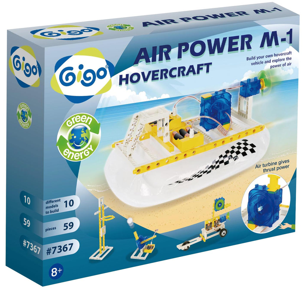 Air Power M-1 Hovercraft 59pc