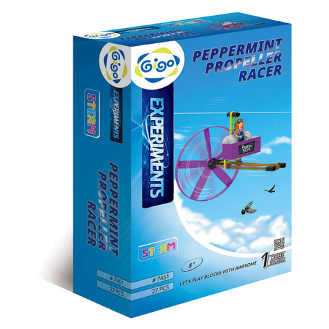 Pepper Mint Propeller Racer 27pc