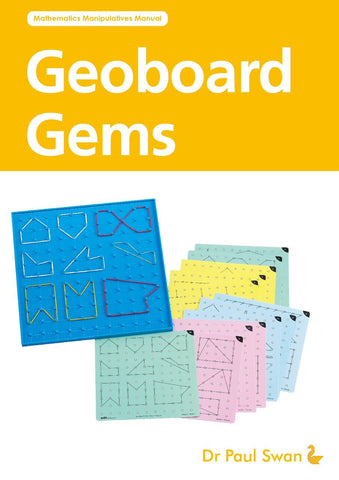 Activity Book - Geoboard Gems - iPlayiLearn.co.za