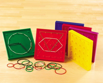 7 Pin Geoboard Single - iPlayiLearn.co.za