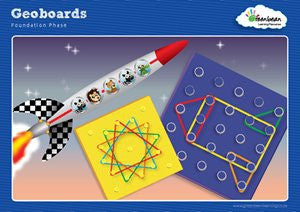 Activity Cards Geoboard Set 1 (Ages 6 - 9)
