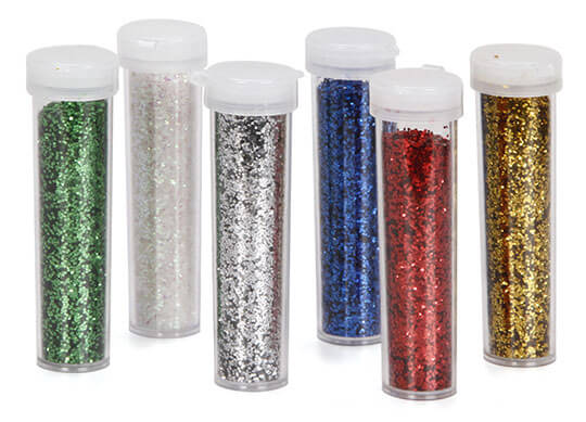 Glitter 8g Assorted 6 pack