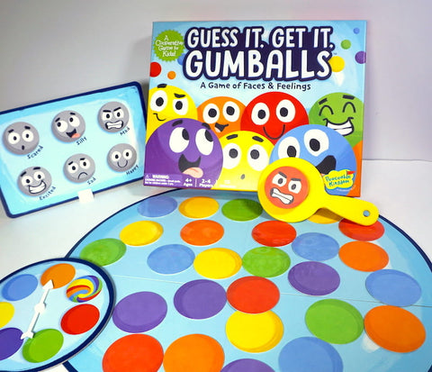 Guess It. Get It. Gumballs: A Game of Faces & Feelings