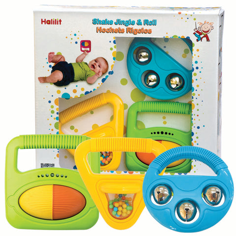 Shake, Jingle & Roll Musical Gift Set