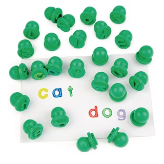 Easi-Grip Letter Stampers Lowercase 26pc