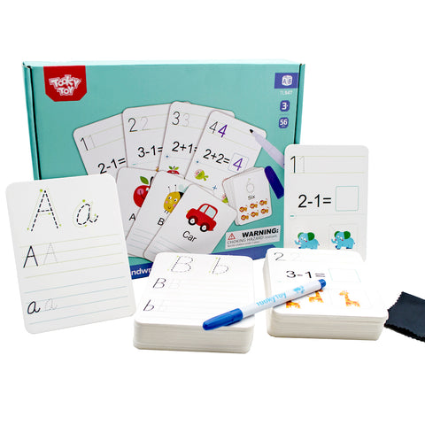 Handwriting & Learning Cards 56pc