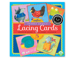 Lacing Cards Friendly Animals
