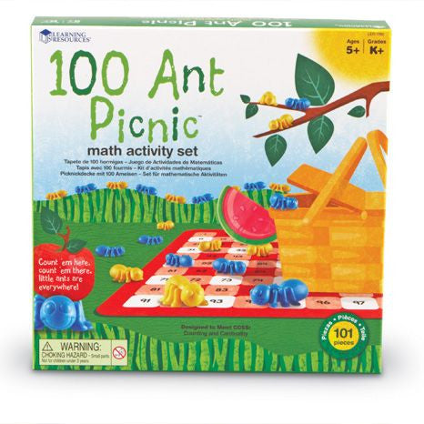 100 Ant Picnic Math Activity Set