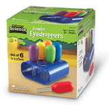 Primary Science Jumbo Eyedroppers with Stand - iPlayiLearn.co.za  - 1