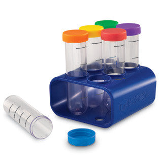 Primary Science Jumbo Test Tubes with Stand - iPlayiLearn.co.za