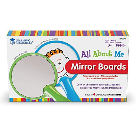 All About Me Mirrors Boards 4pc Set