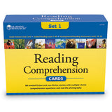 Reading Comprehension Cards Set 1 - Ages 7+ (Grade 2) - iPlayiLearn.co.za